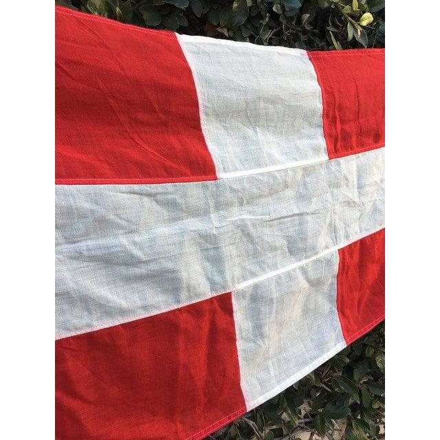 Danish Nautical Pennant Flag - Image 5 of 6