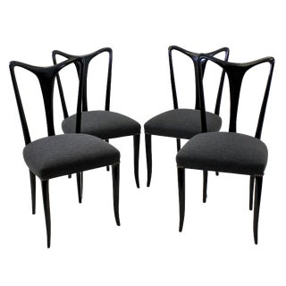 A Set of Four Ulrich Dining Chairs For Sale