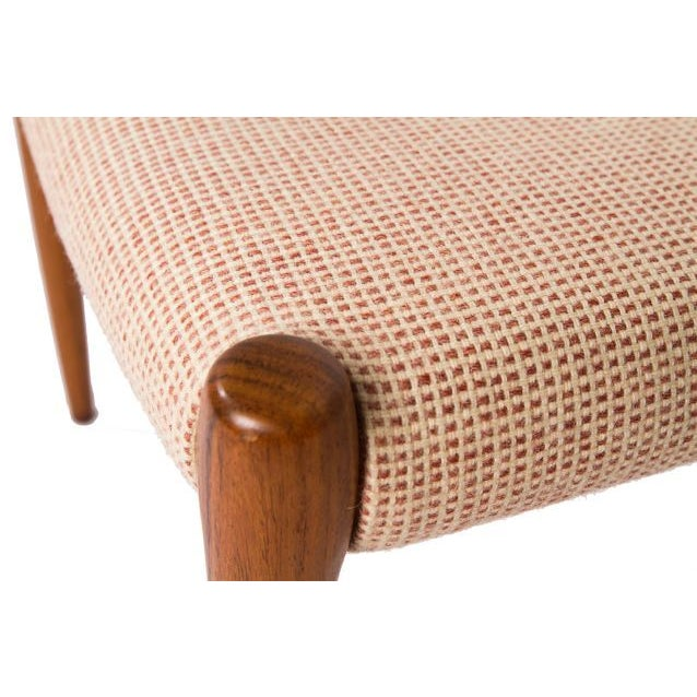 Mid-Century Modern Niels Moller Rosewood Ottoman / Stool For Sale - Image 3 of 3