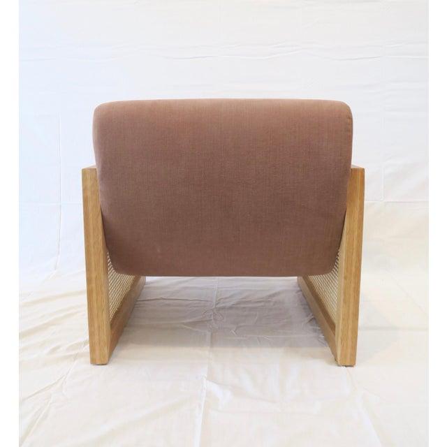 Custom Cane Armchair - Image 4 of 10