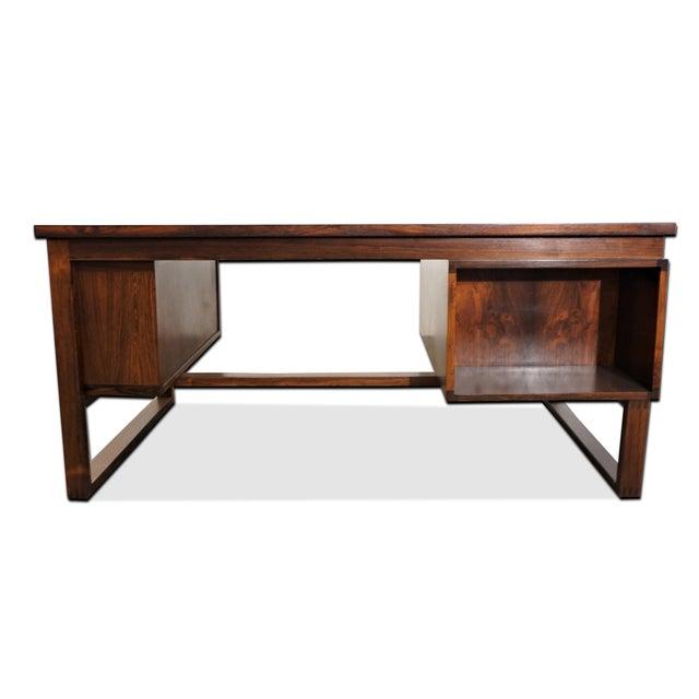 Original Danish Modern Peter Hvidt & Orla Mølgaard-Nielsen Desk For Sale - Image 11 of 12