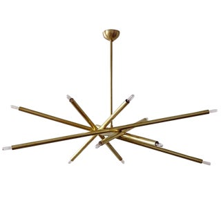 Gallery L7 Vl-6 Brass Chandelier For Sale