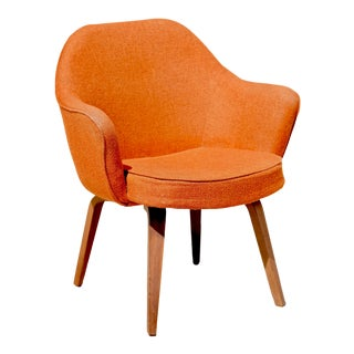 Vintage Mid Century Knoll Eero Saarinen Executive Chair For Sale