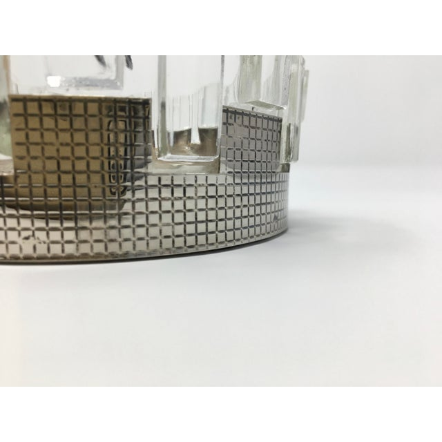 Art Deco Silver Plated Double Candy Dish For Sale - Image 4 of 9