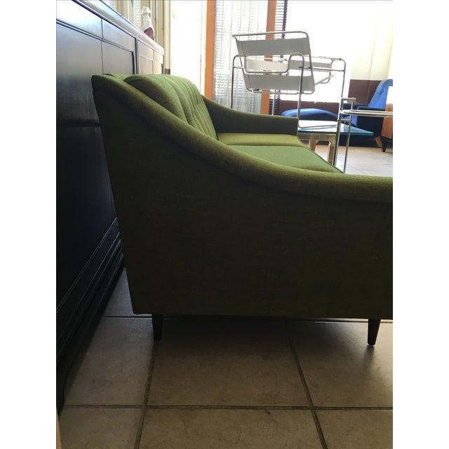 Vintage Lime Green Sofa - Image 6 of 11