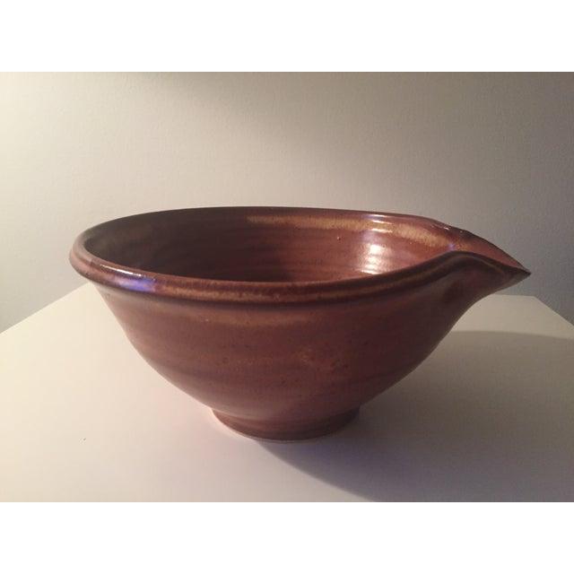 Studio Pottery Batter Bowl-Signed - Image 6 of 7