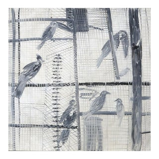 Hunt Slonem, Web, 1989
