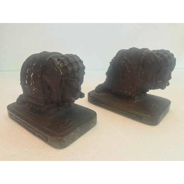 Armor Bronze Company 1920s Elephant Bookends - a Pair For Sale - Image 11 of 13