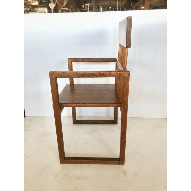 Mid Century Art Studio Chair For Sale - Image 4 of 8