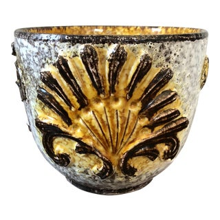 Mid Century Bitossi Seashell Planter For Sale