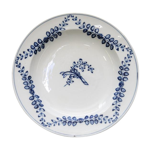 Late 19th Century Meissen plate For Sale - Image 5 of 5