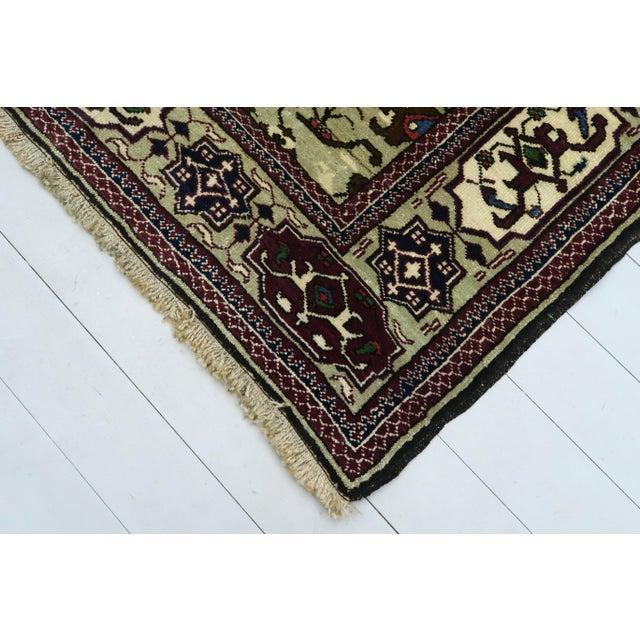 Vintage Turkish Kilim Rug For Sale - Image 11 of 13