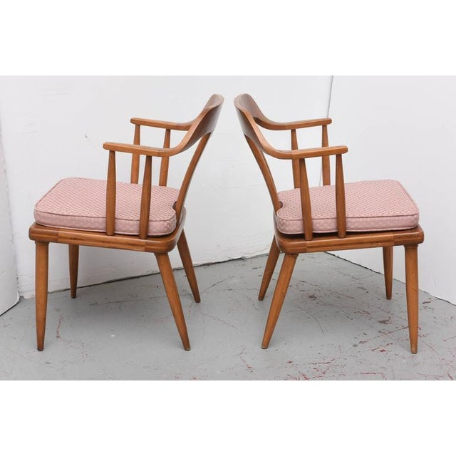 Tomlinson Tomlinson of High Point, Set of Four Dining Chairs, USA, 1957 For Sale - Image 4 of 10
