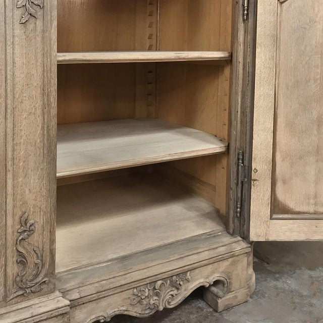Late 19th Century 19th Century Liegoise Regence Stripped Oak Buffet For Sale - Image 5 of 13