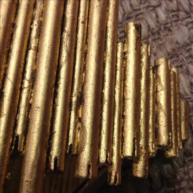 Arteriors Home Gold Wall Sconce - Image 6 of 7