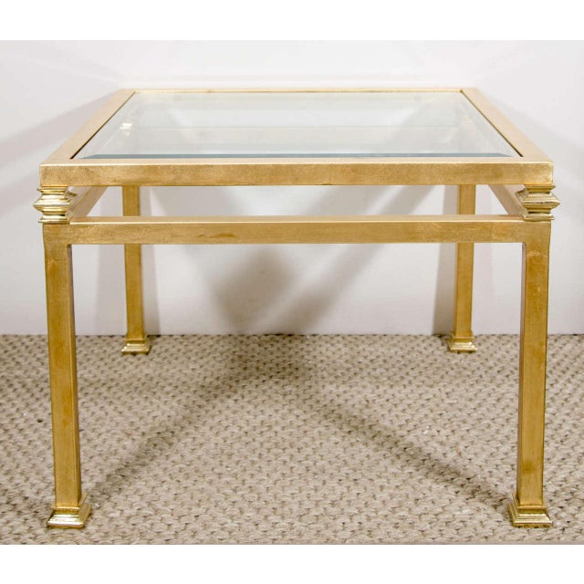 Pair of Gilt Iron Side Tables - Image 2 of 8