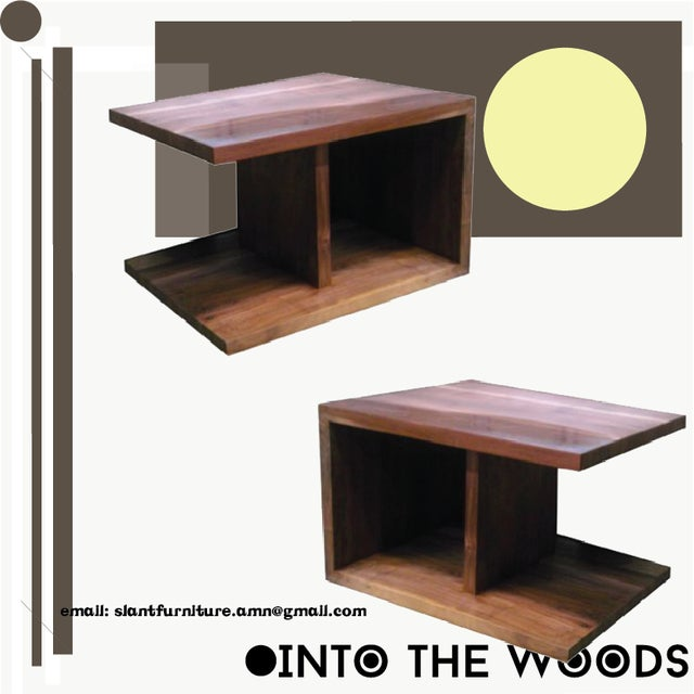 Style - The Side Table. Contemporary Design. Designed to function as an side table, end table, night stand, or anywhere...