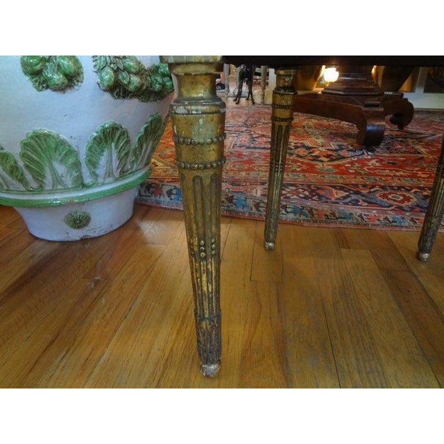 19th Century French Louis XVI Style Giltwood Chairs - a Pair For Sale In Houston - Image 6 of 10