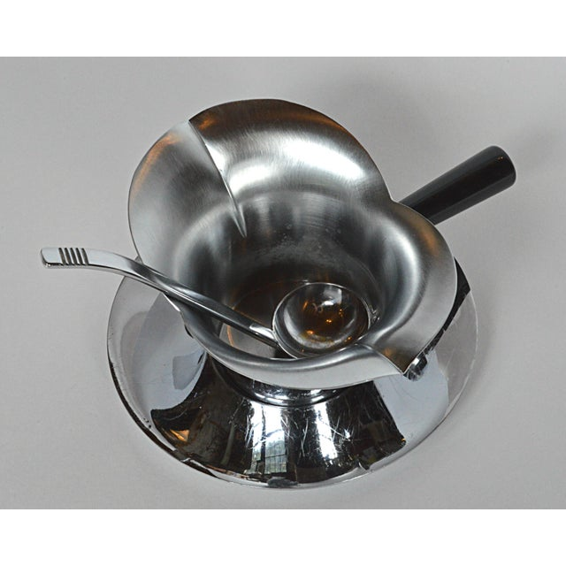 Chase 3-Piece Lotus Gravy Set For Sale - Image 4 of 7