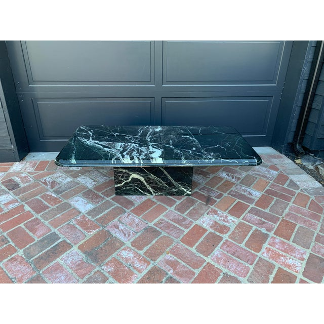 Vintage Italian Marble Coffee Table For Sale In Los Angeles - Image 6 of 7