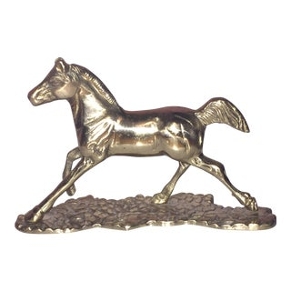 Brass Pony Figurine