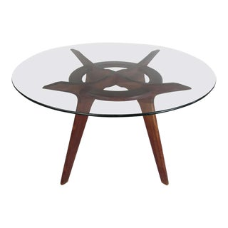 Mid-Century Adrian Pearsall Compass Dining Table For Sale