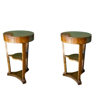 Mid Century Side Tables - A Pair For Sale