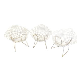 Harry Bertoia for Knoll Diamond Chairs, 3 Available