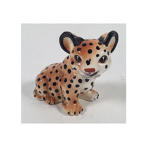 Ceramic Leopard Cub - Image 2 of 5