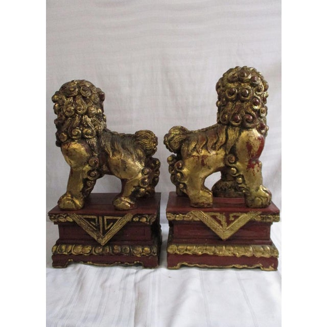 Chinese Foo Dogs A Pair Chairish