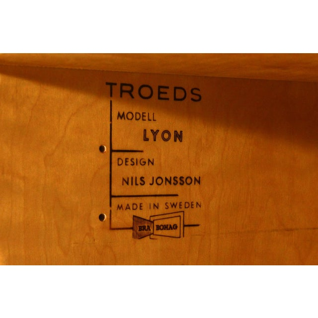 Nils Jonsson for Hugo Troeds Swedish Teak Credenza - Image 6 of 10
