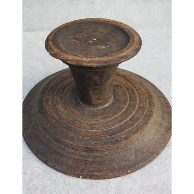 Antique Wooden Compote - Image 9 of 10
