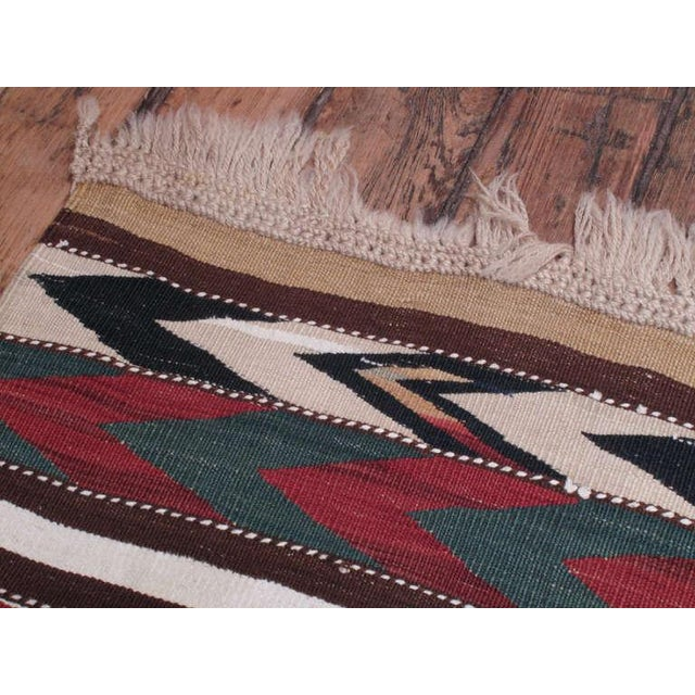 Antique Shahsavan Kilim For Sale In New York - Image 6 of 6
