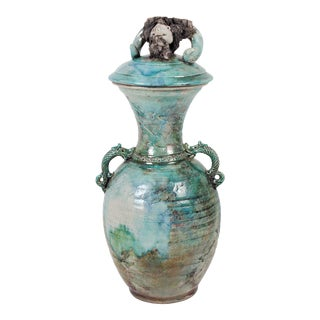 Michael Kennedy Ceramics Figural Goat Head Vase
