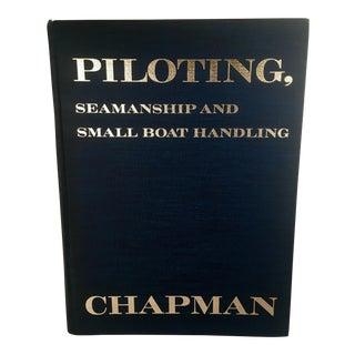 "Vintage 1971 Edition Chapman Nautical ""Piloting Guide"" Hardback Book For Sale"