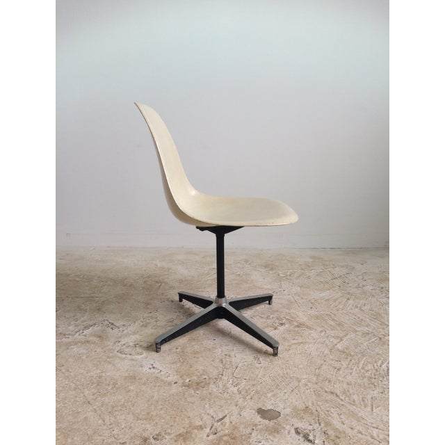 Eames Eames Vintage Plastic Shell Chair For Sale - Image 4 of 6