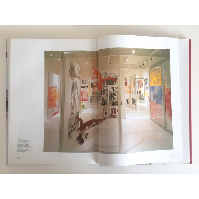 """Blue """"Robert Rauschenberg"""" 1st Edition Vintage 1999 Collector's Art Book For Sale - Image 8 of 11"""