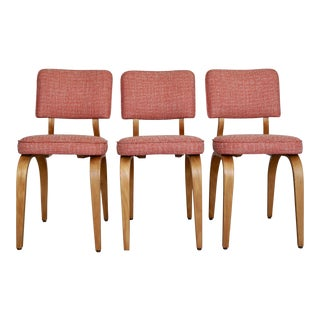Thonet Mid-Century Modern Bentwood Dining Chairs - Set of 3 For Sale