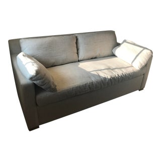 Restoration Hardware Belgian Track Arm Classic Sofa For Sale