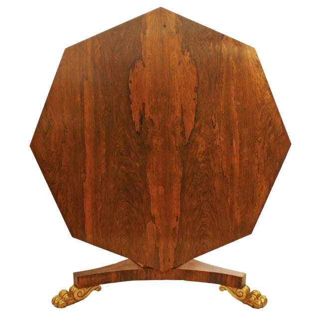 English Regency Period Tilt-top Center Table - Image 1 of 7