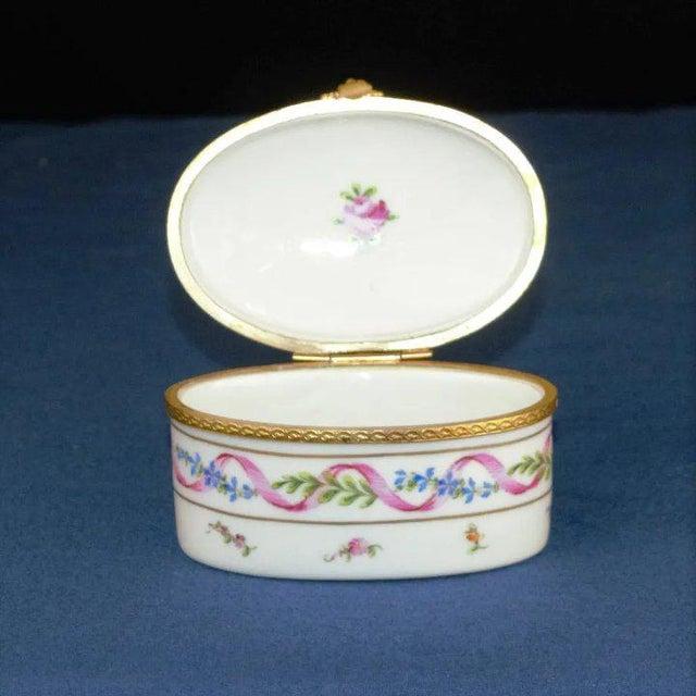 1960s Atelier LeTallec Porcelain Box For Sale - Image 5 of 8
