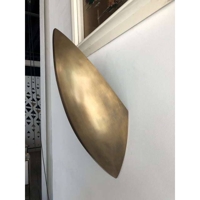 Gold Aerin Irvin Wall Sconce For Sale - Image 8 of 11