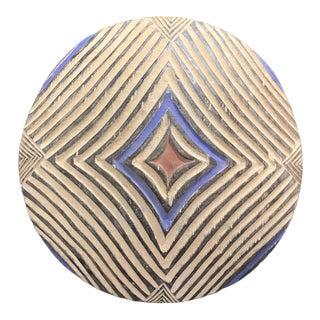 African Zulu Round Shield For Sale