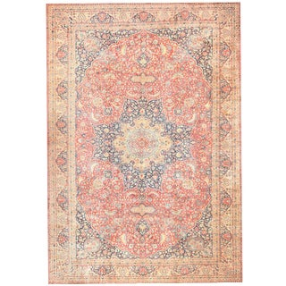 Antique Persian Tabriz Carpet - 14′10″ × 21′5″ For Sale