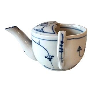 Antique Meissen Porcelain Invalid Feeder Cup For Sale