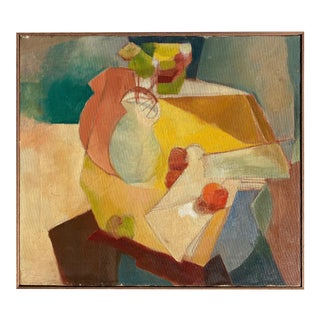 Mid-Century Modern Abstracted Still Life For Sale