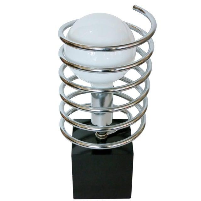 Sonneman Lighting Modernist Spring Table Lamp by Sonneman Lighting Company For Sale - Image 4 of 8