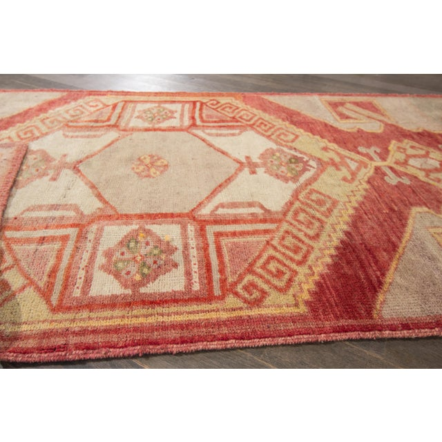 "Textile Apadana - Vintage Turkish Anatolian Rug, 3'3"" x 10'3"" For Sale - Image 7 of 7"