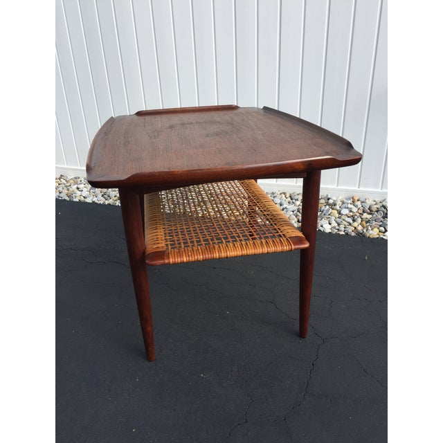 Wood Poul Jensen for Selig Mid-Century Danish End Table For Sale - Image 7 of 11