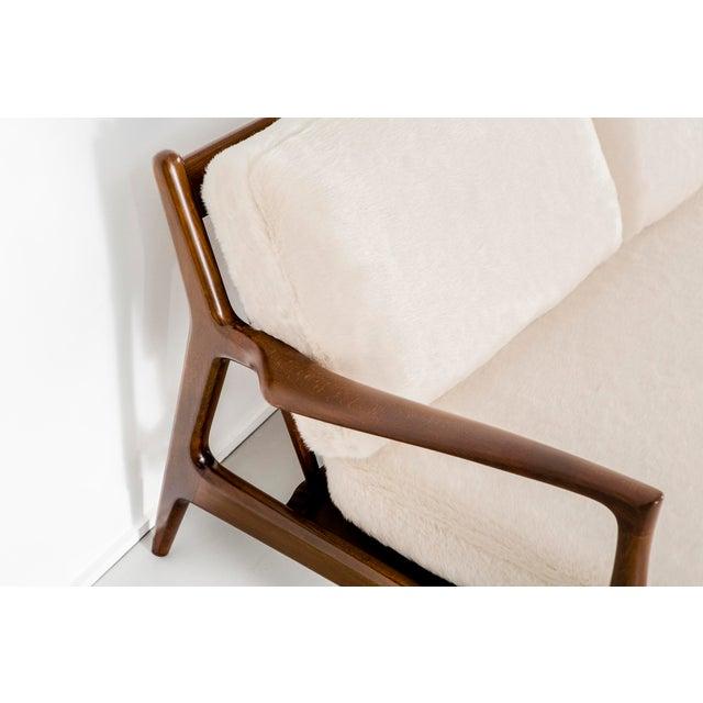 Selig Ib Kofod-Larsen for Selig Teak Wood Sofa For Sale - Image 4 of 13